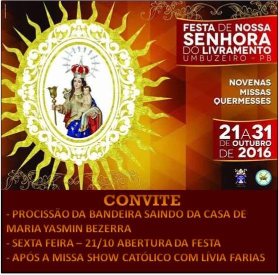 tradicional festa da Paróquia de Nossa Senhora do Livramento em