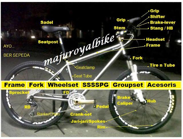 sepeda gunung majuroyal