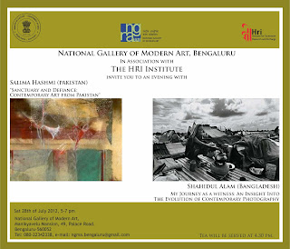 Talk at NGMA Bangalore