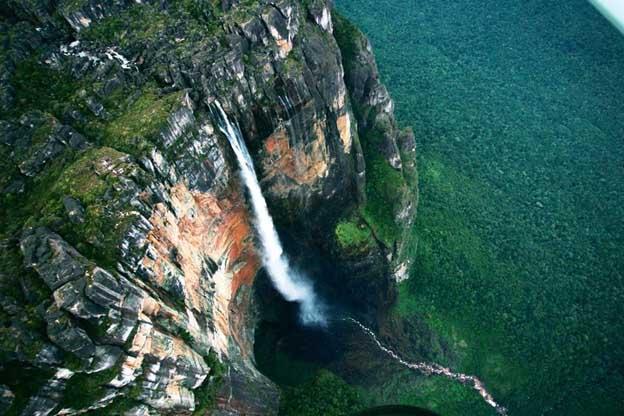 Rede Furada: Salto Ángel, a maior cachoeira do mundo