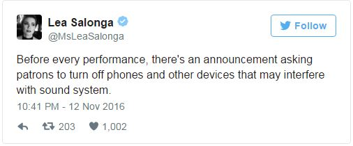 Lea Salonga Rants Over 'Rude, Disrespectful' Couple Who Were On Their Phones During Performance In The Manila Run Of 'Fun Home'