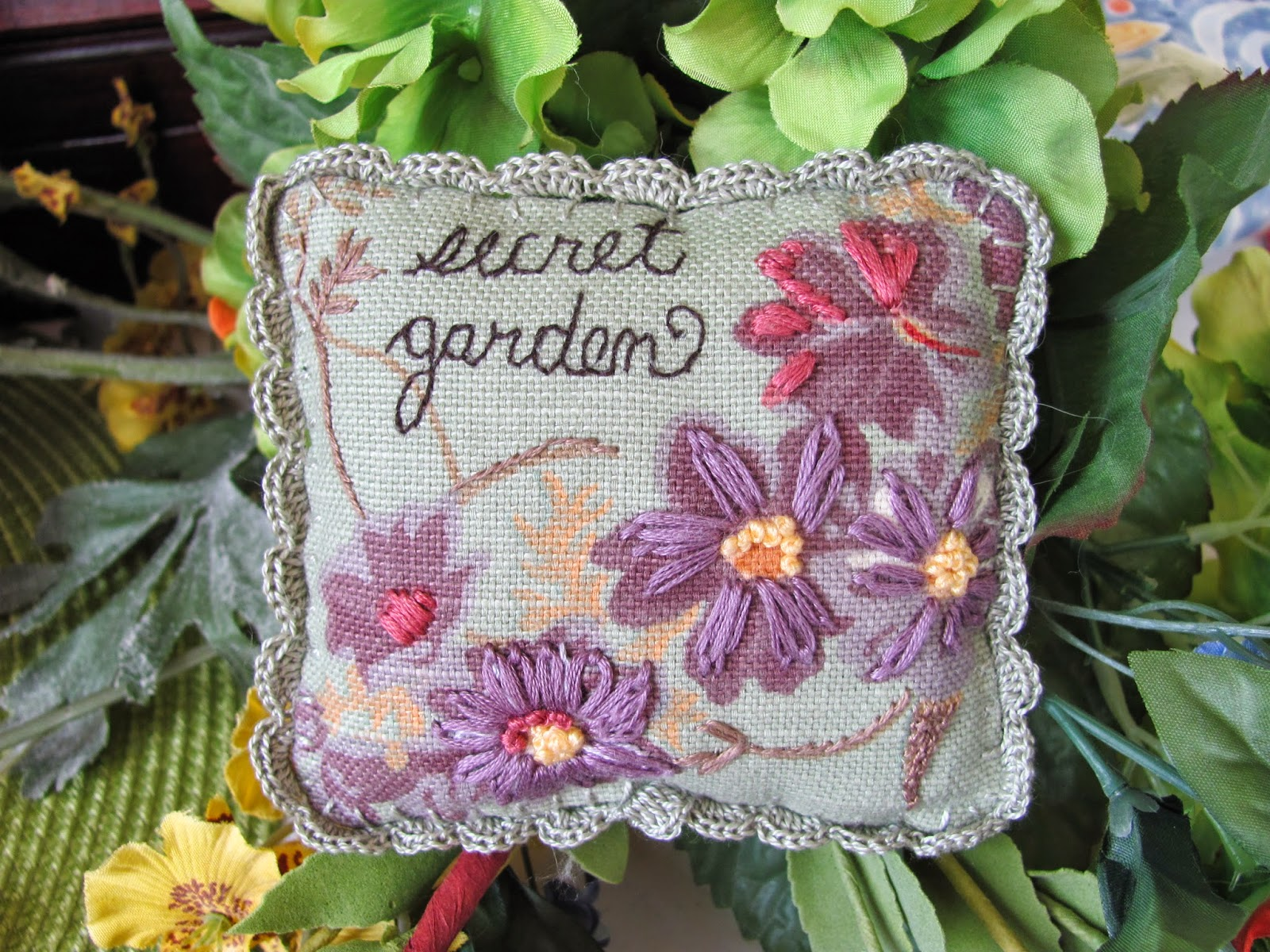 """My Secret Garden: By The Bay Needleart: """"My Secret Garden"""" And A Giveaway"""