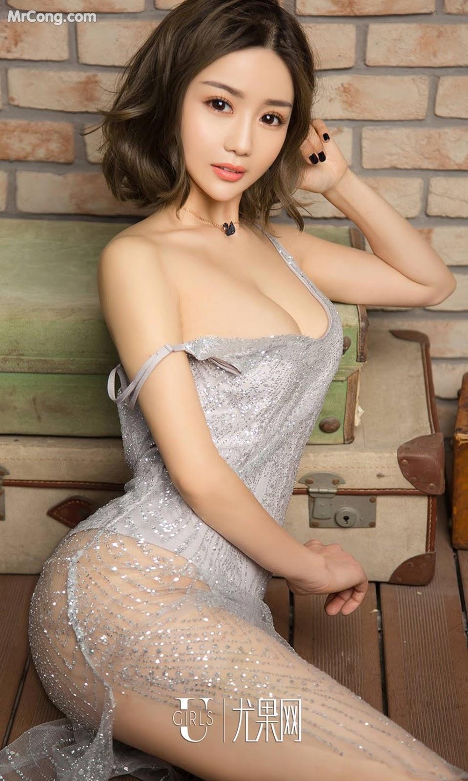 Image UGIRLS-Ai-You-Wu-App-No.1022-Yan-Yi-Xi-MrCong.com-002 in post UGIRLS – Ai You Wu App No.1022: Người mẫu Yan Yi Xi (颜亦汐) (40 ảnh)