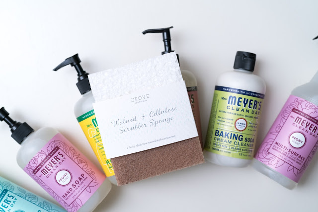 grove collaborative  mrs meyers method natural cleaning review