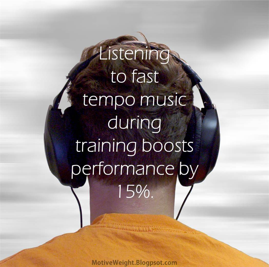 Music Boosts Performance During Training By 15% | Amazing