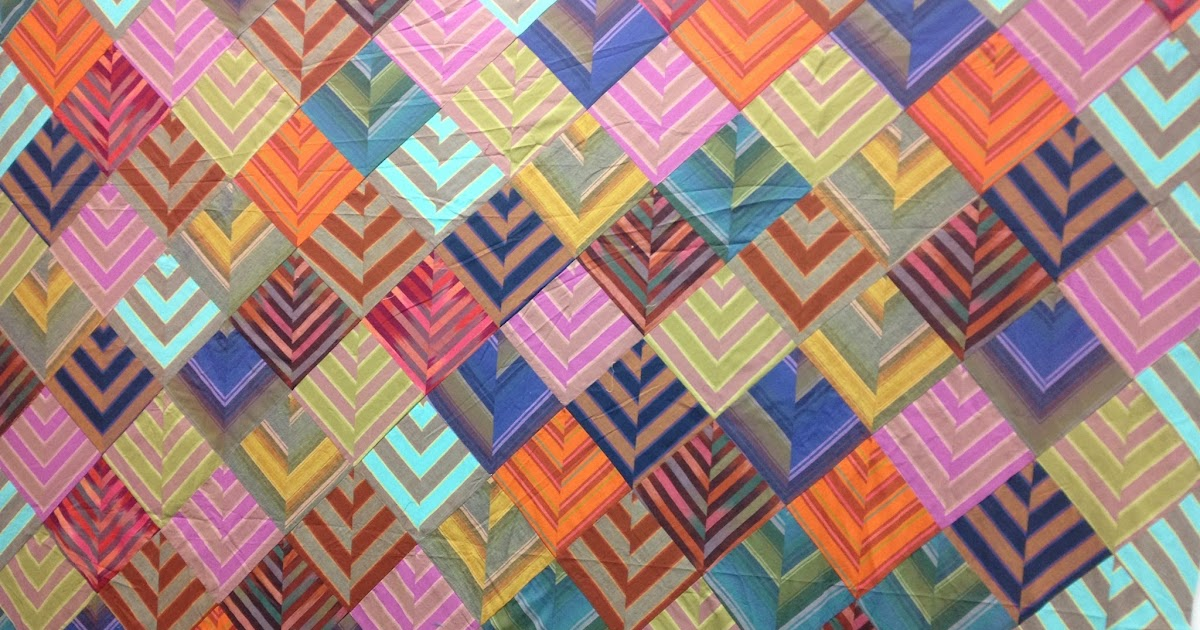 The Beyondness Of Things Wip Chevron Quilt Kaffe