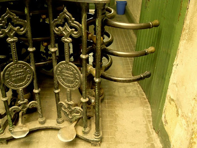 1914, Chile, John Bailey and Co, Peral, Valparaíso, Чили, старый турникет, old turnstile