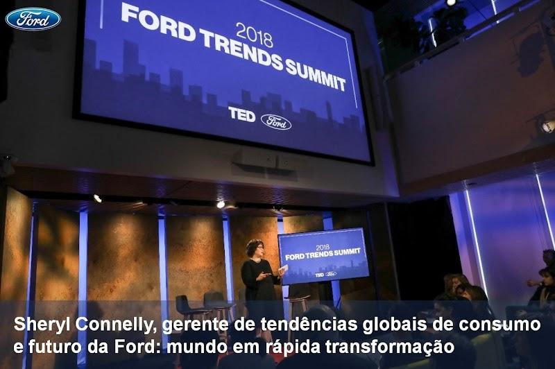 Ford apresenta tendências que irão impactar e evoluir marcas e consumidores em 2018