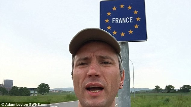 Man Sets New World Record After Traveling to TWELVE Countries in 24 Hours - France
