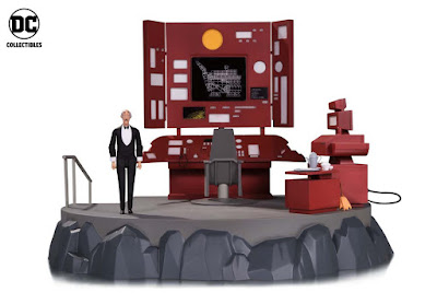 Batman The Animated Series Batcave Playset with Alfred Action Figure by DC Collectibles