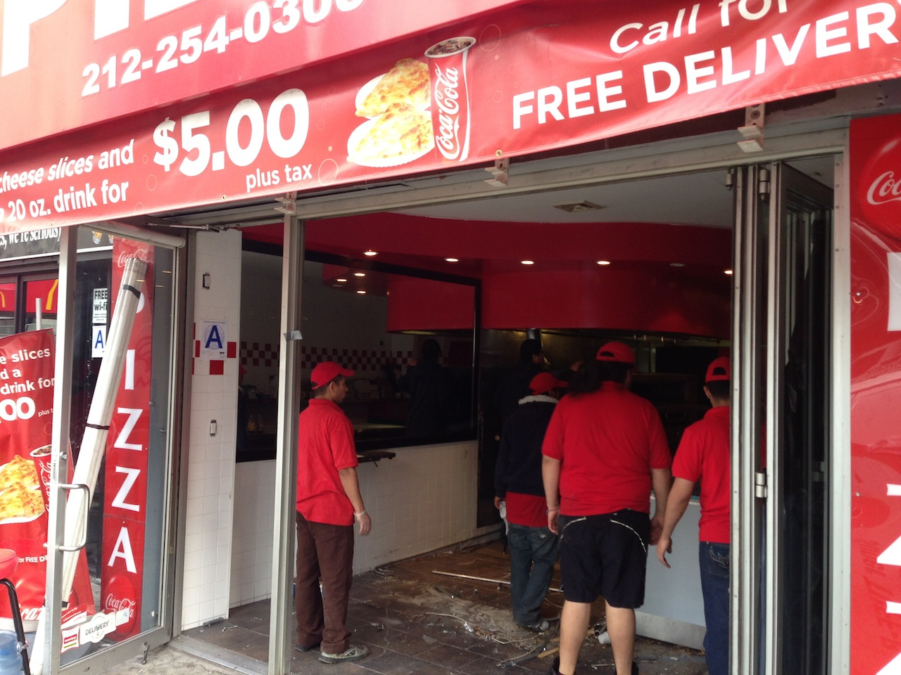 Ev Grieve Breaking Workers Gutting Little Italy Pizza On