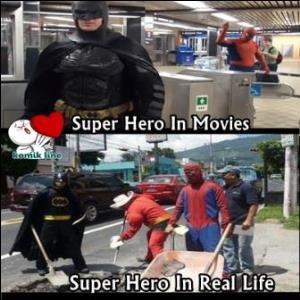 gambar dp bbm super hero movie