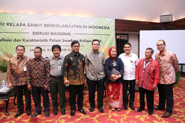 Wabup Muba Hadiri Diskusi Nasional, Tentang Pemetaan Petani Sawit