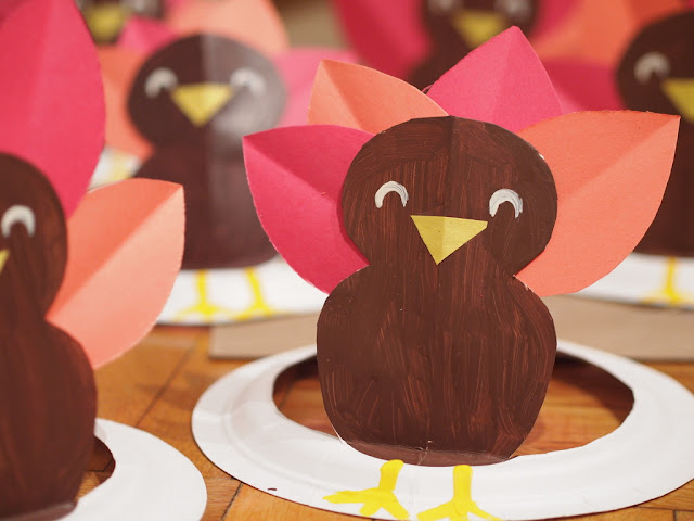 how to make turkey paper plate hat