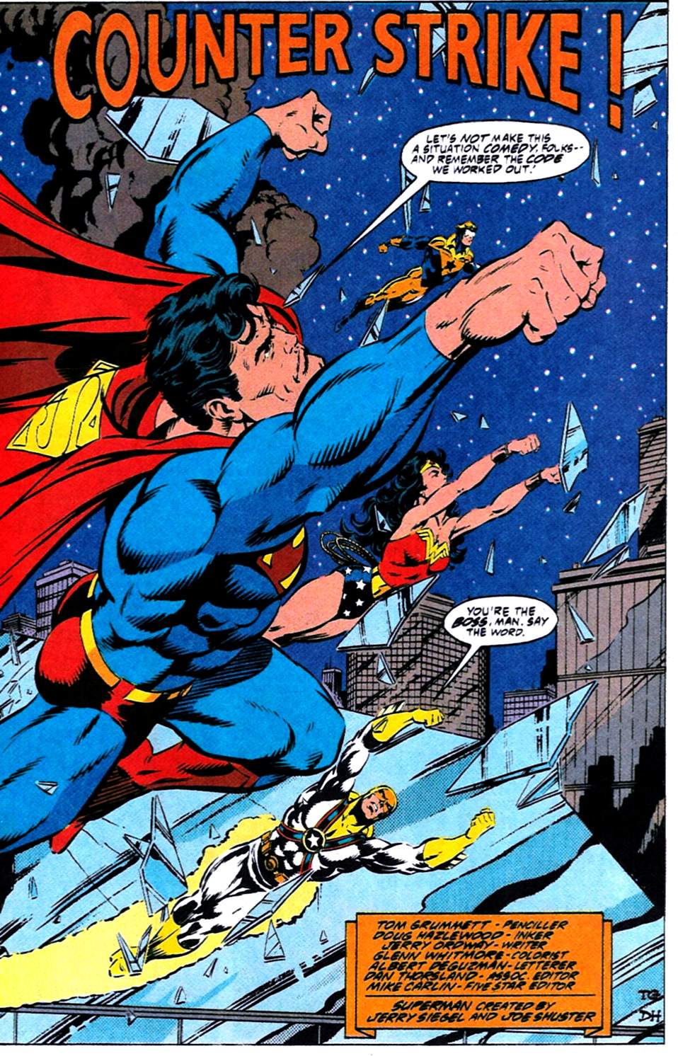 Read online Adventures of Superman (1987) comic -  Issue #488 - 4