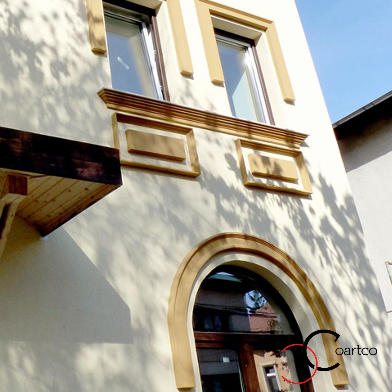 Profile decorative, arcade polistiren la comanda, fatade case cu arcade
