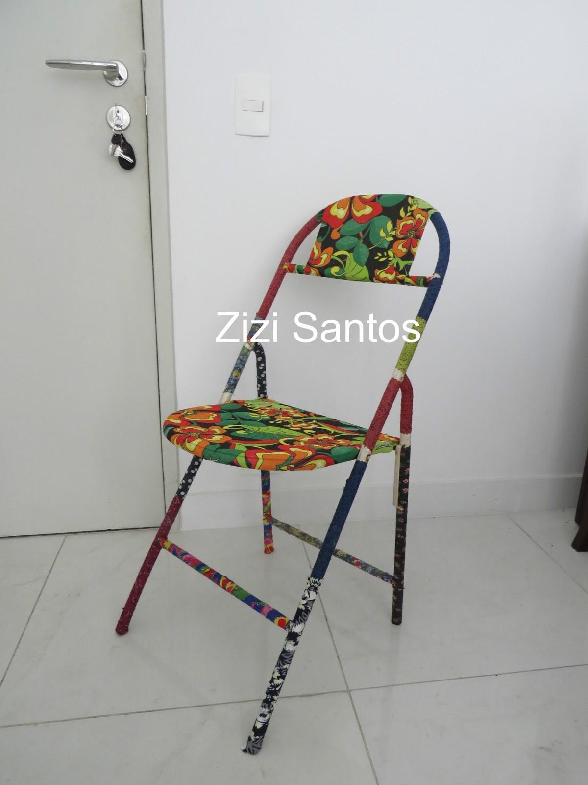 Zizi Santos: Revestimento de cadeira de ferro #9F632C 1200x1600