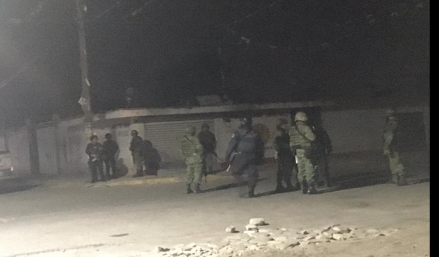 Siete ejecutados dejó enfrentamiento entre huachicoleros y militares en Quecholac