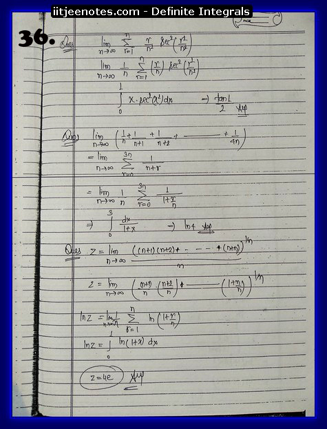 definite integrals class 12-5