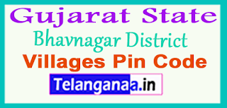 Bhavnagar District Pin Codes in Gujarat State