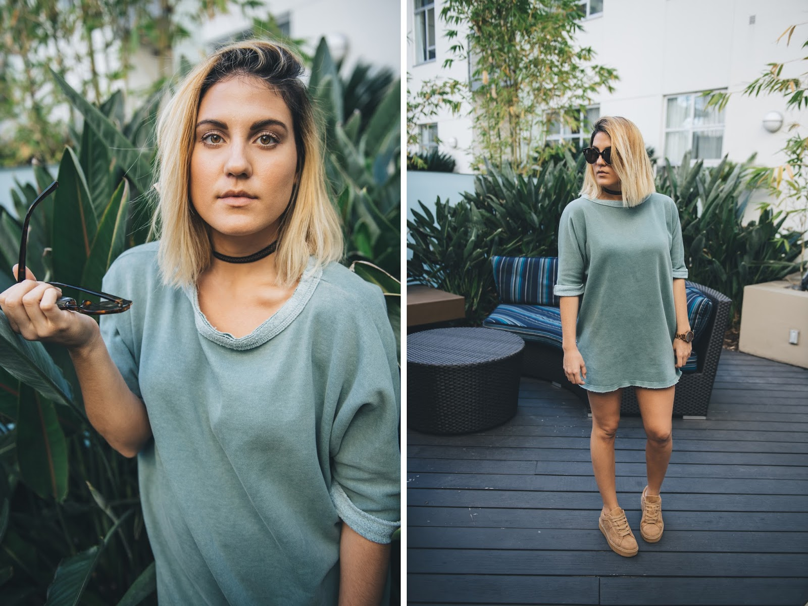 Casual Sweatshirt Dress from Urban Outfitters
