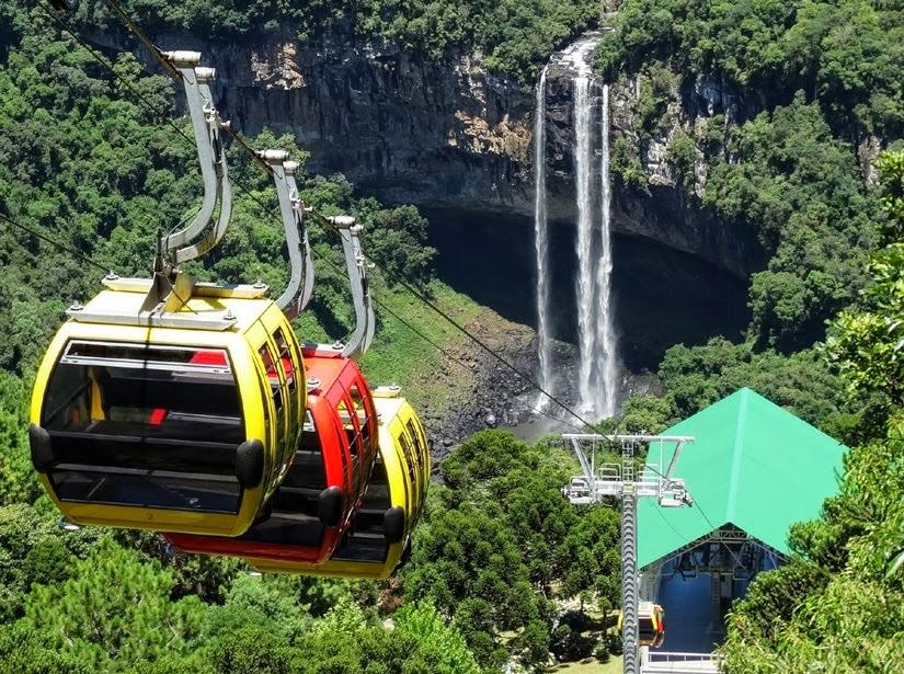 Bondinho Parques da Serra - Roteiro Rio Grande do Sul: 9 dias