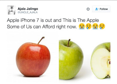 Here's how much the new iPhone 7 costs and top funniest Nigerian responses