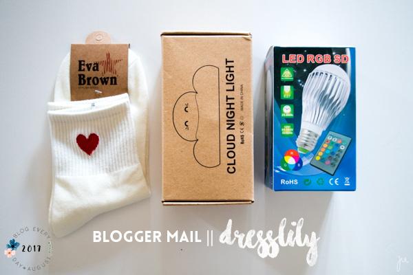 BEDA #6 || BLOGGER MAIL! || Dresslily