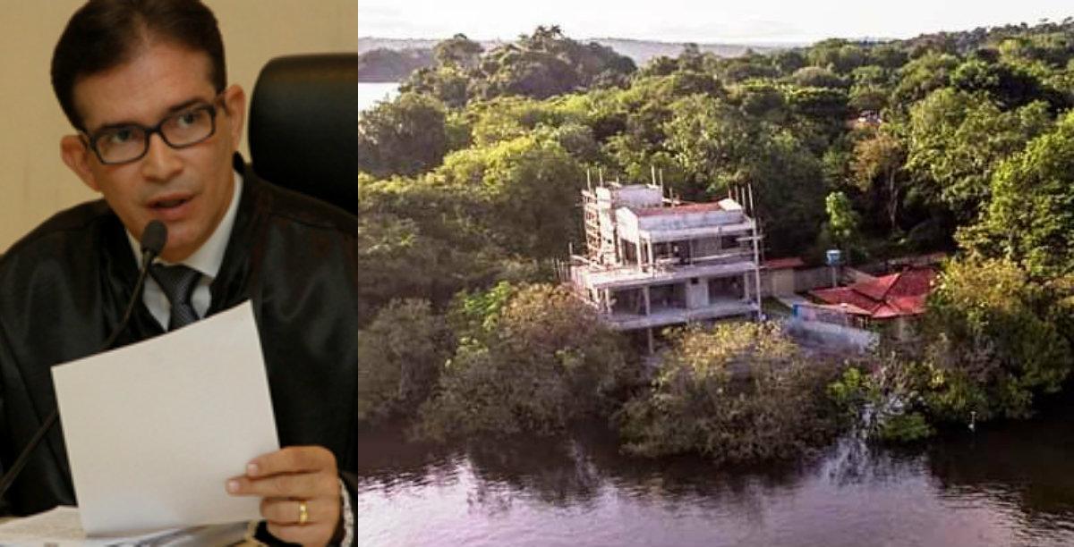 Juiz suspende obras na casa em Alter do Chão do nº 2 do TCE; Semma se antecipou na iniciativa