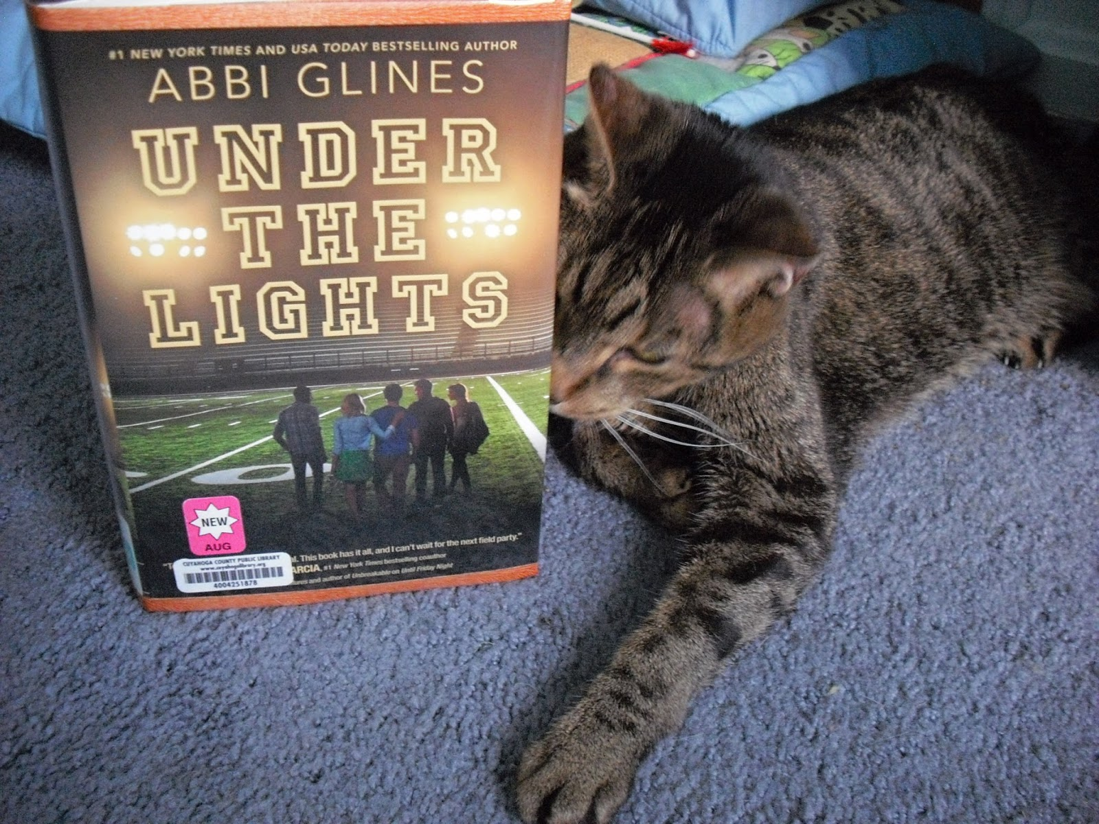Grab A Book From Our Stack Quot Under The Lights Quot By Abbi Glines