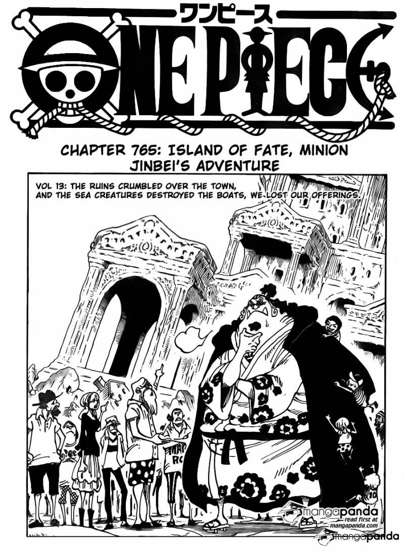 One Piece Ch 765: Island of Fate, Minion