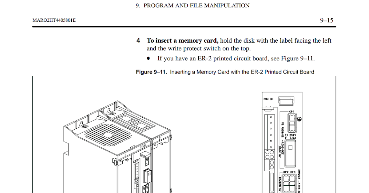 Wiring Diagrams and Free Manual Ebooks: FANUC RJ2 Controller P200 Maintenance Manual