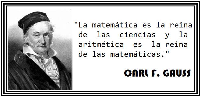Mi Gato Es Un Genio Carl Friedrich Gauss