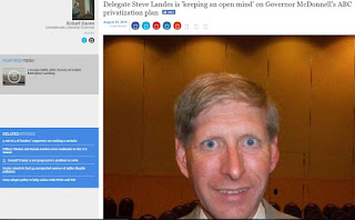 liquor law Steve Landes ABC privatization Bob McDonnell Virginia