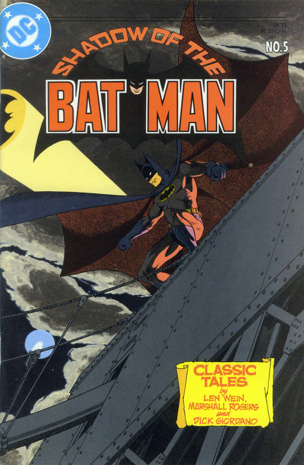 Read online Shadow of the Batman comic -  Issue #5 - 1