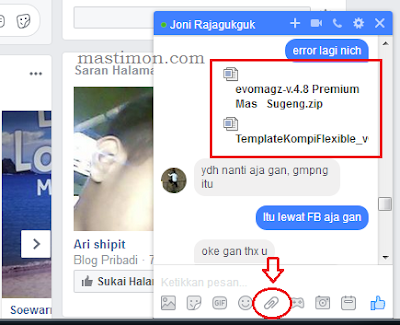 Cara Kirim File Melalui Massenger Facebook Dengan Dropbox Mastimon Com