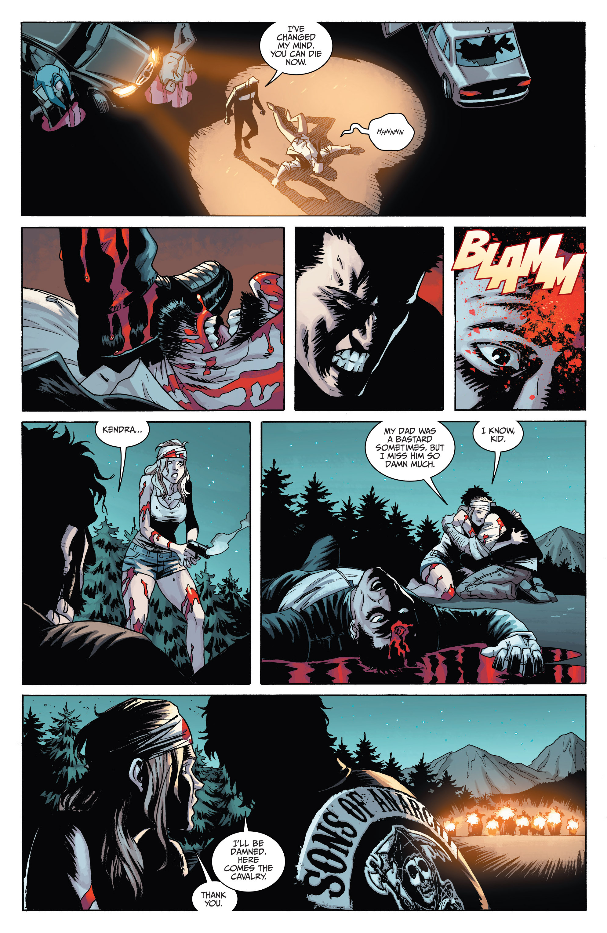 Read online Sons of Anarchy comic -  Issue #6 - 24