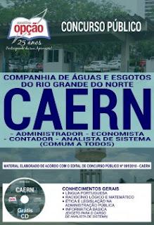 Baixar Apostila Concurso CAERN 2018 PDF Download
