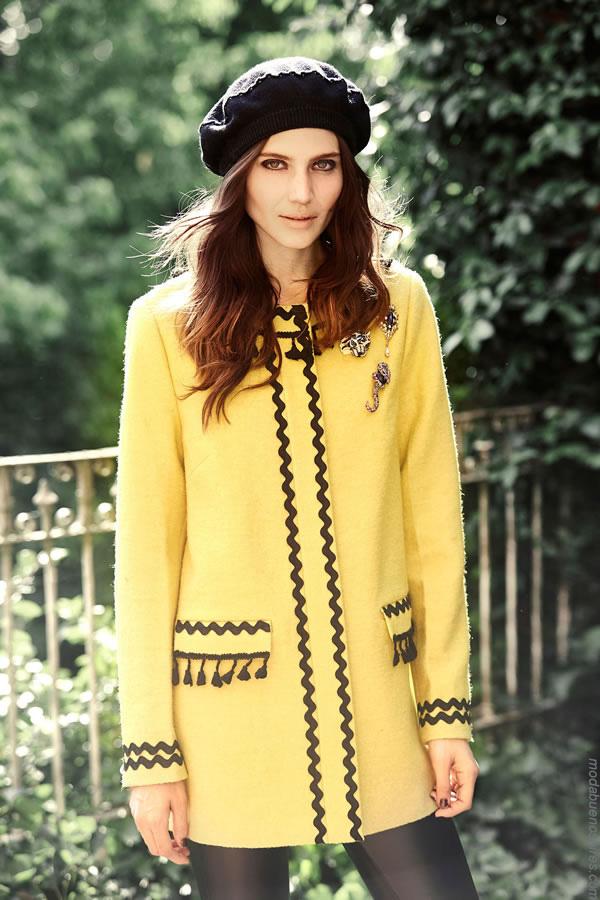 Abrigos invierno 2017 ropa de moda mujer. Moda mujer 2017 invierno.