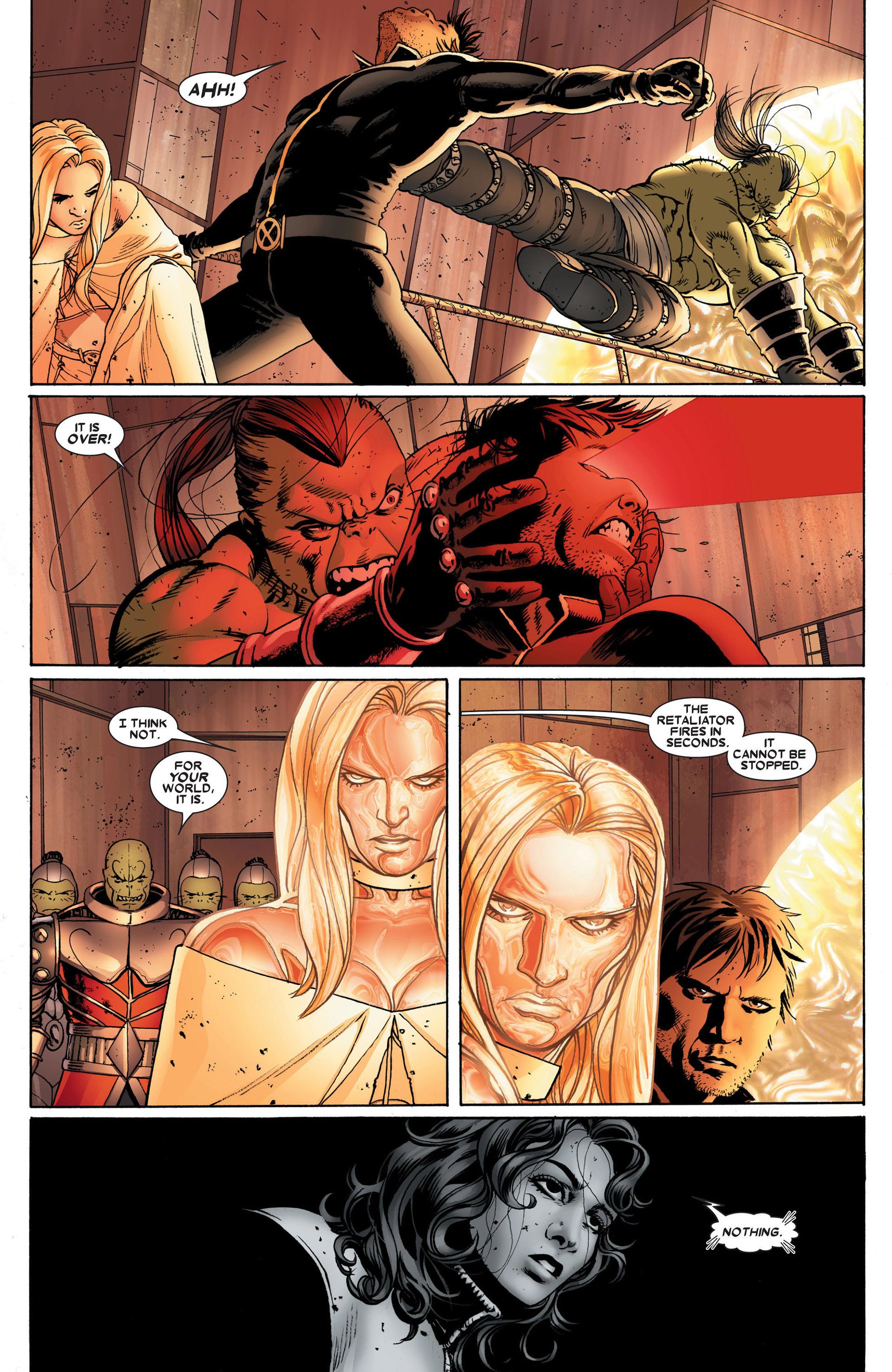 Read online Astonishing X-Men (2004) comic -  Issue #24 - 21