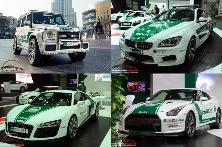 Dubai Police Force New Cars