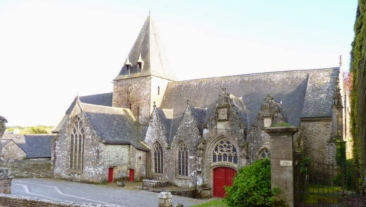 La Iglesia de Notre-Dame de la Tronchaye.