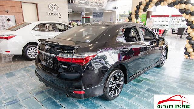 Giá xe, thông số kỹ thuật và đánh giá chi tiết Toyota Corolla Altis 2018 - ảnh 13