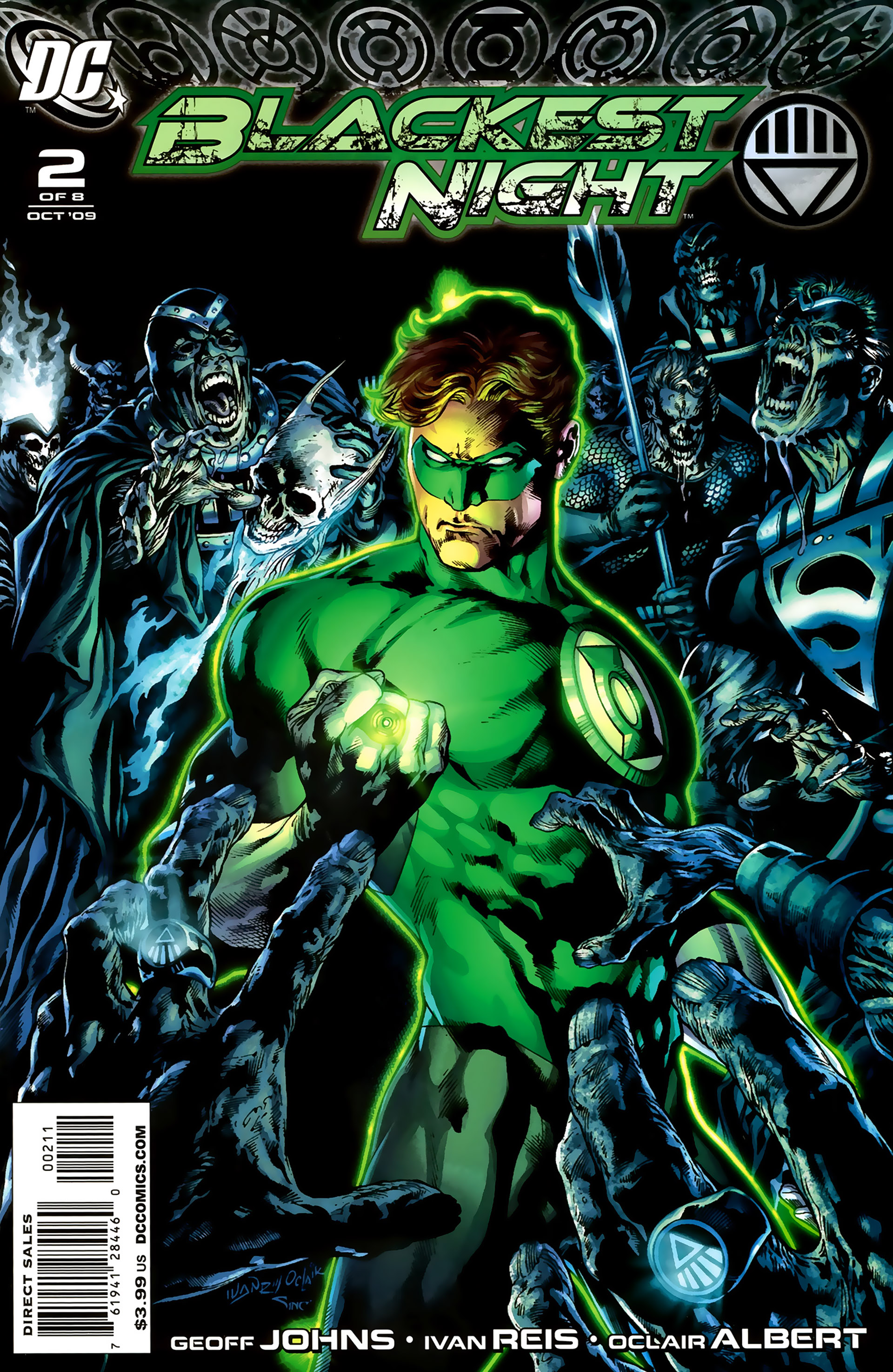 Blackest Night 2 Page 1