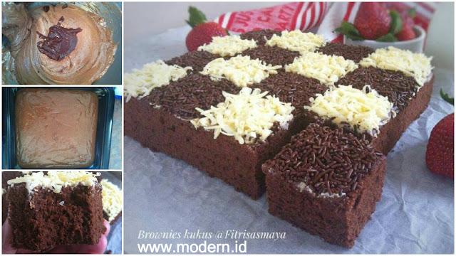 Resep Brownies Kukus Sederhana Dan Nggak Ribet