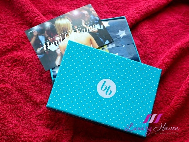 june bellabox haul of fame reviews