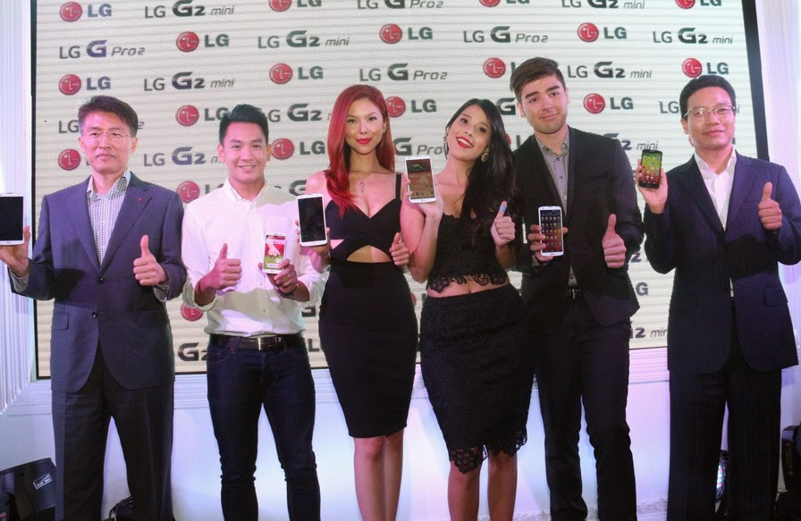 LG G Pro 2 Philippines Launch, Maxine Magalona, Thomas Torres, Andrei Paras