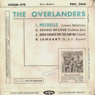 The Overlanders - Michelle (The Pye Anthology) ... PLUS
