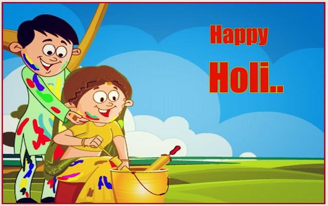 Happy Holi HD Wallpaper Com