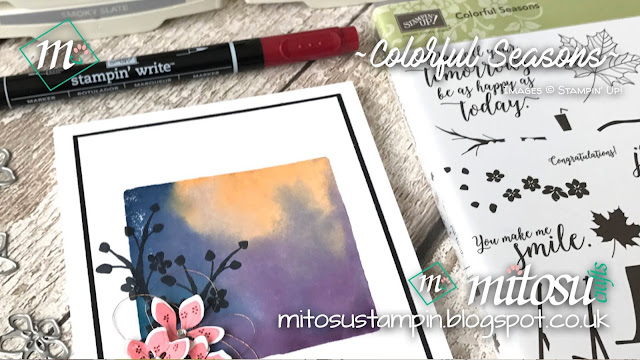 Stampin' Up! Colorful Seasons 2018 Order Stampinup Online from Mitosu Crafts' UK Shop 1